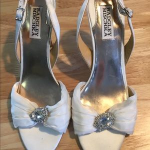 Badgley Mischka formal heels